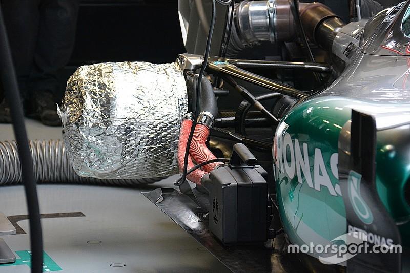 Análisis técnico: el truco de Mercedes para calentar los neumáticos