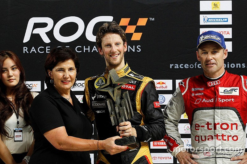 Ook Romain Grosjean naar Race of Champions