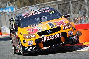 V8 Supercars Qualifying report Gold Coast V8s: Van Gisbergen pips McLaughlin to Saturday pole