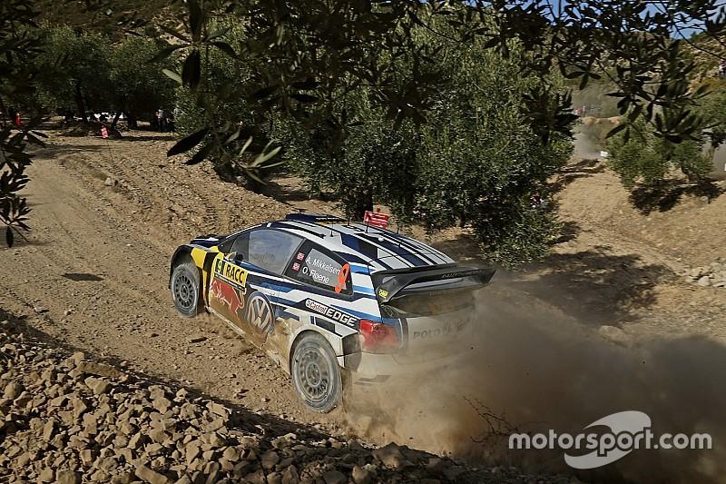 WRC西班牙站次日:奥吉尔孤独领跑