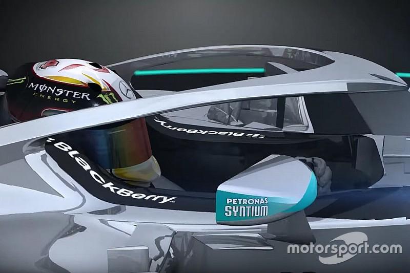 FIA test drie ontwerpen van gesloten cockpit