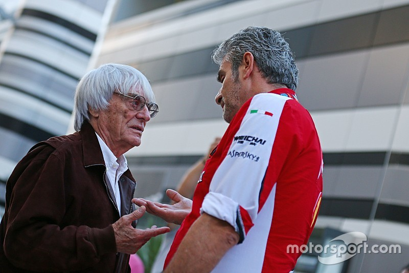 Ecclestone accuses Ferrari, Mercedes of