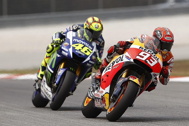 Marquez geschokt door gedrag van Rossi