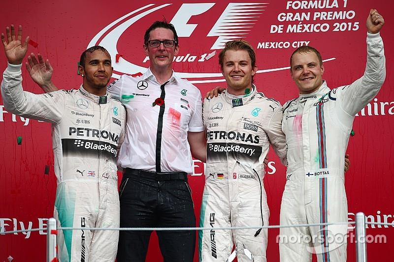 Hamilton reconoce la gran tarde de Rosberg