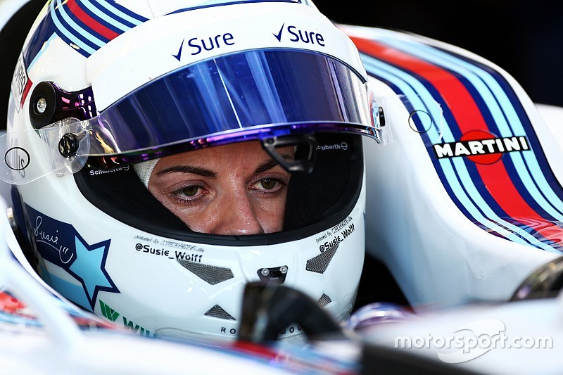 Susie Wolff to retire from competitive racing