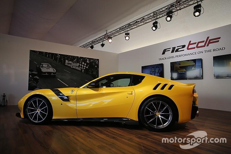 Ferrari presenta el F12tdf en Mugello