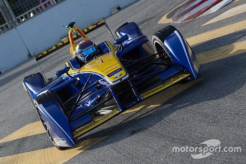 Renault e.dams feel the heat in Malaysia