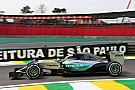 Brazilian GP: Hamilton leads from Rosberg in FP1
