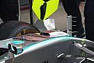 Mercedes haalt S-duct weg