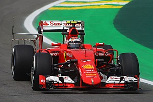 "Formula 1 Practice report Ferrari on the ""second row"""