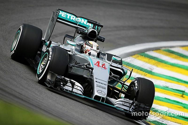 VT3: Hamilton snelste ondanks spin en bakproblemen, Verstappen P10