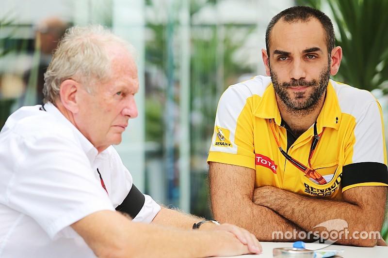 Helmut Marko legt uit: 'Dezelfde motoren als fabrieksteam Renault'