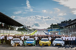 DTM Breaking news No changes to BMW's DTM line-up for 2016