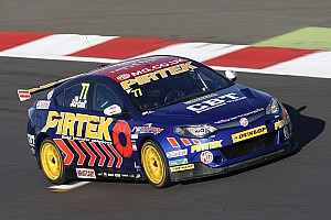 BTCC Breaking news MG commits to BTCC for further three years