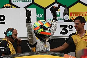 Brasileiro de Marcas Relato da corrida Carbone supera Barrichello e vence em Interlagos