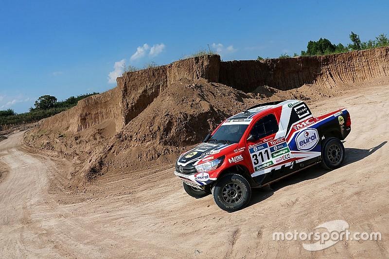 Bernhard ten Brinke wint Dakar-proloog