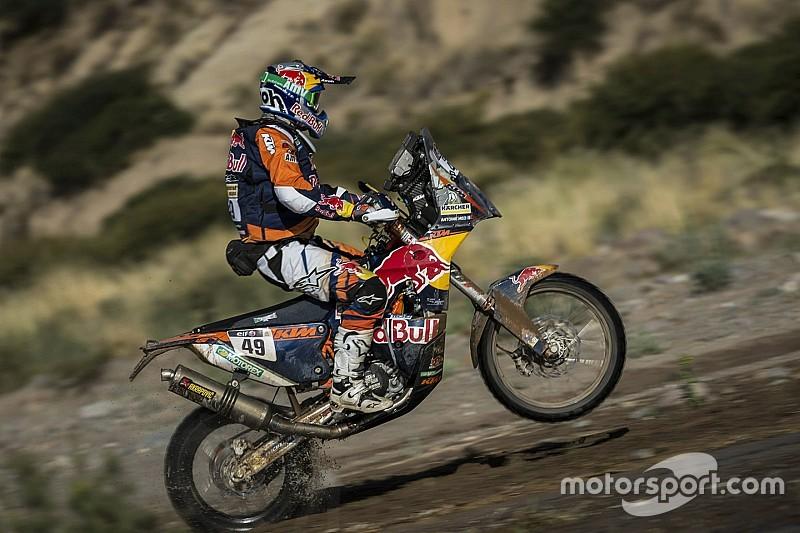 Dakar motoren: Meo wint, Goncalves breidt voorsprong uit