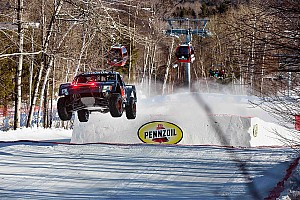 Offroad Race report Bryce Menzies successfully defended his Red Bull Frozen Rush crown – video