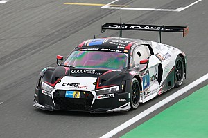 Endurance Qualifying report Audi teams lock out front row of the grid for 24H Dubai