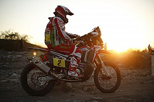 Dakar Breaking news Goncalves unscathed after losing consciousness in crash