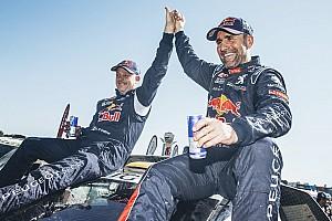 Dakar Prüfungsbericht Rallye Dakar: 12. Sieg für Stéphane Peterhansel, Loeb Tagesschnellster