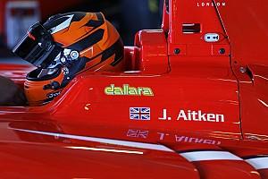 GP3 Breaking news Aitken to make GP3 switch with Arden