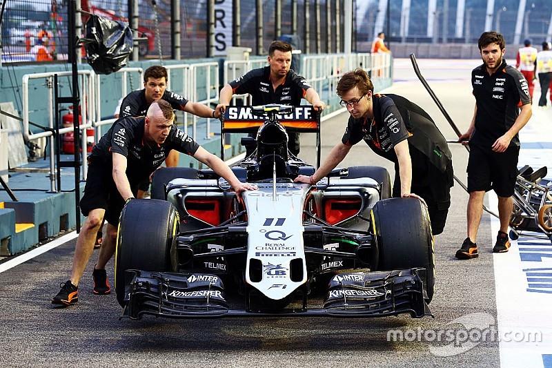 Nieuwe Force India ontvangt goedkeuring van FIA