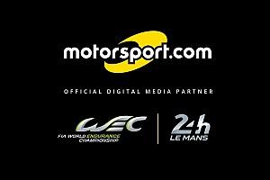 Motorsport.com será parceiro digital oficial do WEC e 24 Horas de Le Mans