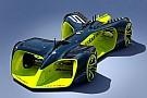 RoboRace Roborace rivela la concept car da corsa a guida autonoma