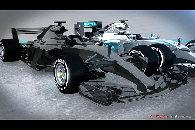Якими будуть автомобілі Ф1 в 2017 році?