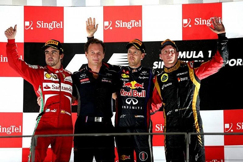 Гран При Сингапура: гонка