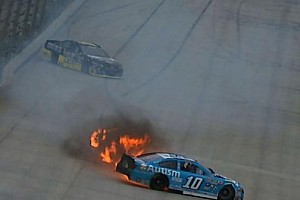 NASCAR Sprint Cup Breaking news Bizarre multi-car wreck halts NASCAR Sprint Cup practice