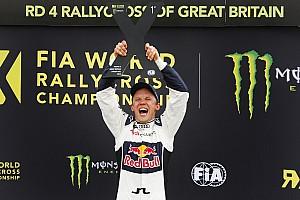 WK Rallycross Dagverslag WRX Groot-Brittannië: Ekström scoort drie op rij