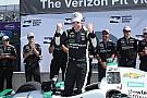 インディ第7戦デトロイトレース1予選:パジェノーPP、琢磨11位