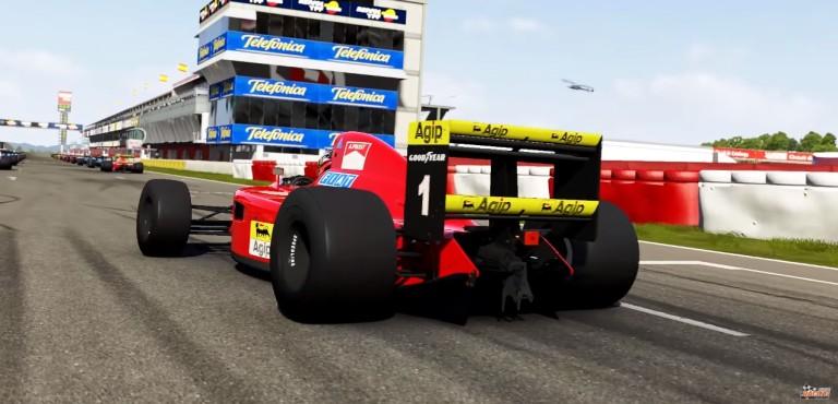 Ilyen a Ferrari 641-es F1-es versenygép a Forza Motorsport 6-ban