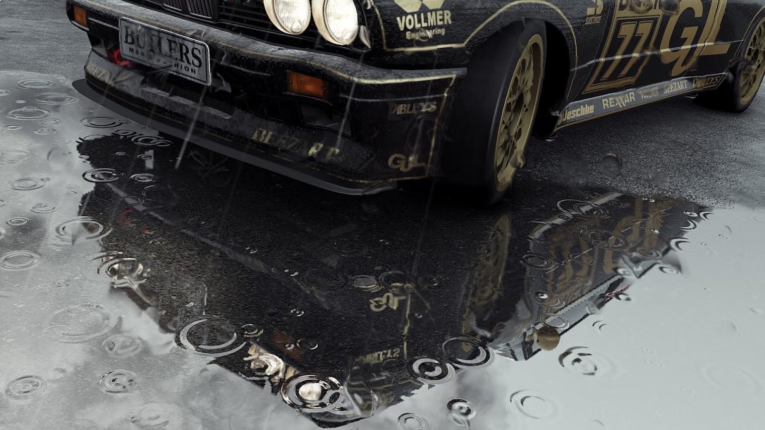 Project CARS: Ilyen élethű az eső a játékban!