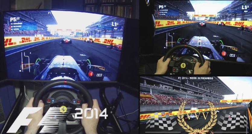 F1 2014: Ilyen a versenyzés esőben a játékban