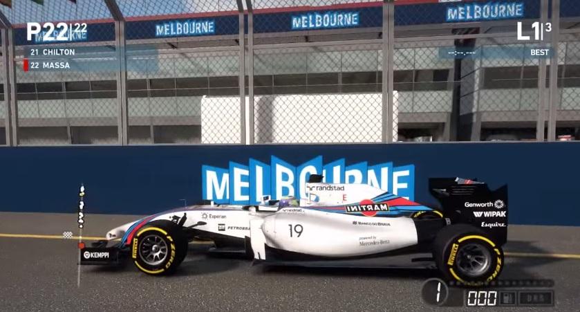 F1 2014: Máris elkészült a Williams eredeti martinis festése a játékhoz