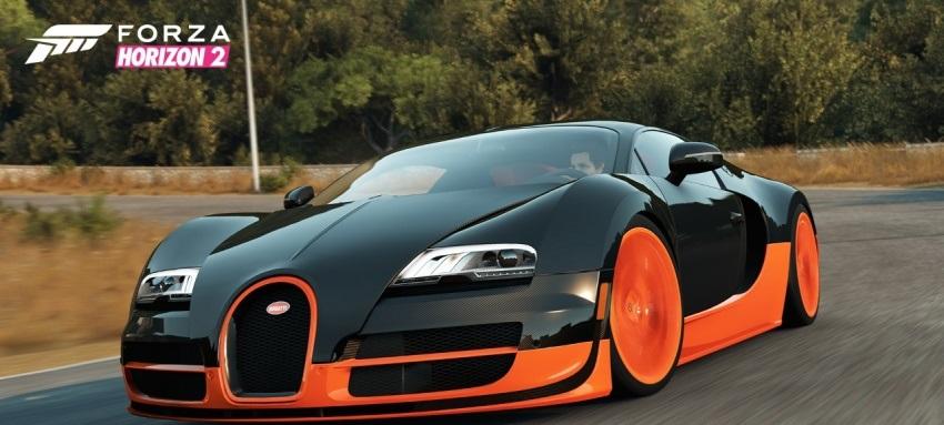 Forza Horizon 2: 436 km/órával repesztett a Bugatti Veyron Super Sporttal