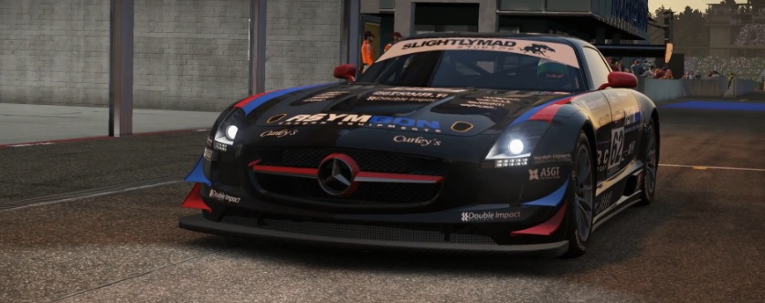 Project CARS: Ilyen a Mercedes-Benz SLS AMG a játékban