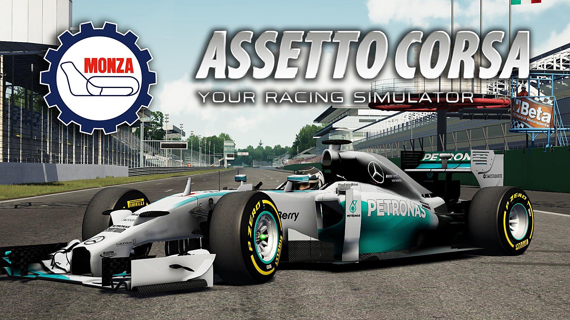 Assetto Corsa: F1 2014 a játékban a Mercedesszel Mugellóban