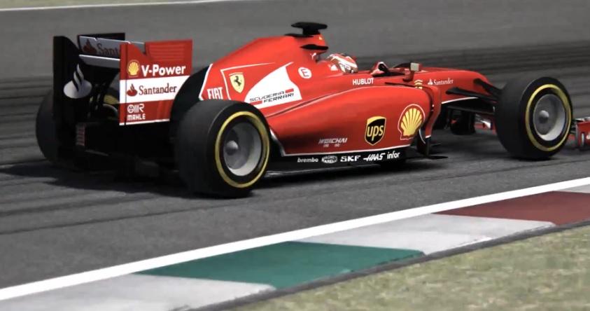 Még élethűbb lett az F1 2014 (AC): Új külső hangokat kapott a Ferrari F14-T