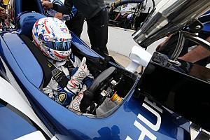IndyCar Son dakika IndyCar 2017'de aeroscreen kullanmayı planlıyor