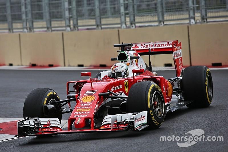 Феттель визнає, що у Ferrari був складний день