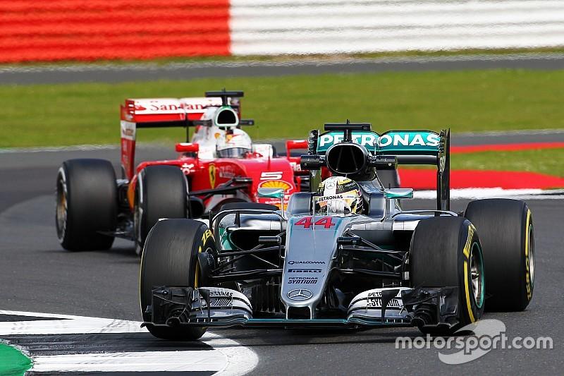 F1イギリスGPフリー走行分析:メルセデスの大きいデグラデーション。跳ね馬&紅牛に勝機は?
