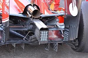 Technique - Essieu soufflé et diffuseur de la Ferrari