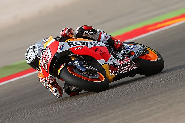 MotoGP Gara Marc Marquez cala il poker ad Aragon ed ipoteca il titolo