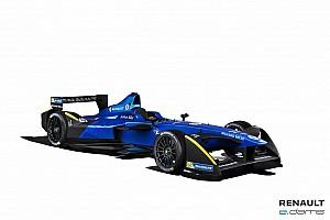 Formula E Press release Renault e.dams launches dynamic, new 2016/17 FIA Formula E Championship livery