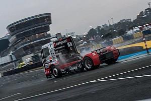Kamion Eb BRÉKING Kiss Norbi az élről esett ki Le Mansban, motorhibával zárta az évet