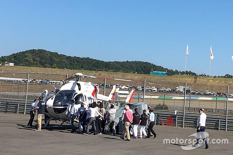 Elicottero Yamaha : Motogp lorenzo in ospedale elicottero per effettuare